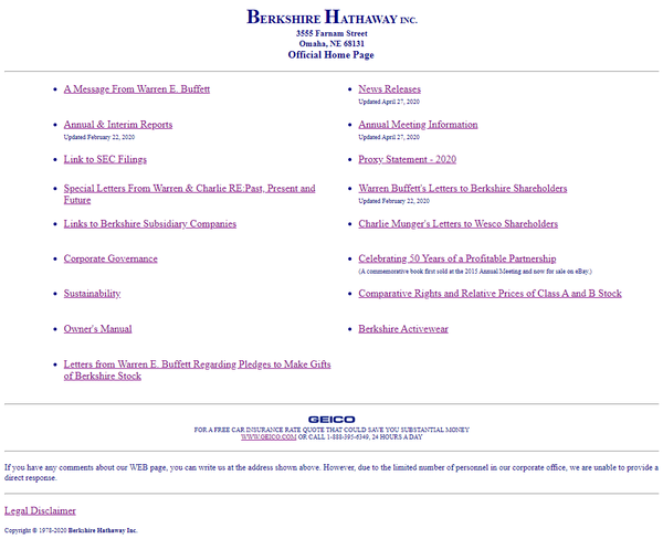 ^ $450B website