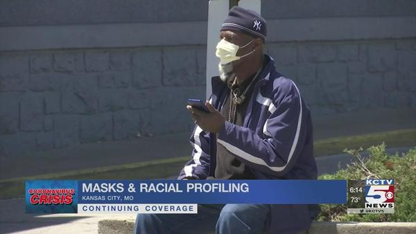 People of color concerned about being racially profiled for wearing masks | Coronavirus | kctv5.com