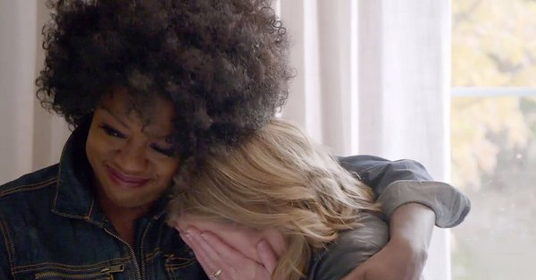 Viola Davis Tears Up Revealing Surprise Home Makeover to Longtime Friend Who Beat Cancer