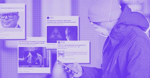 Ruim 250 onbetrouwbare nieuwsberichten over COVID-19 verspreid via Twitter