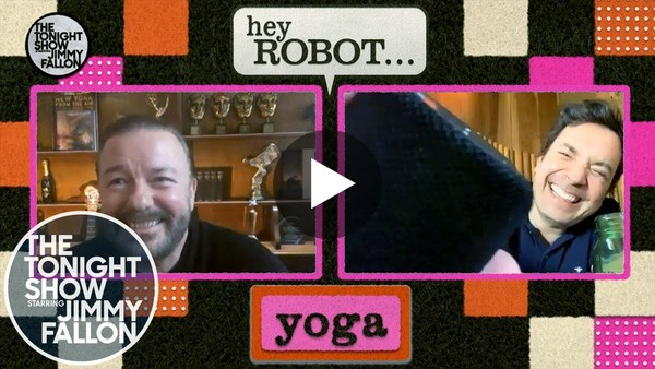Hey Robot with Ricky Gervais