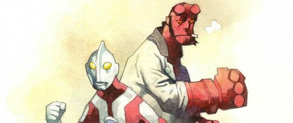 Mike Mignola - Hellboy Original Comic Art