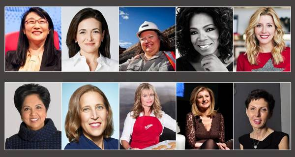 10 Most Successful Women Entrepreneurs In The World