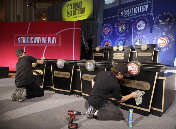 NBA postpones draft lottery, leaving rebuilding teams in limbo