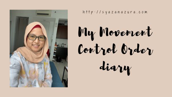 My Movement Control Order diary. - Silent Confessions