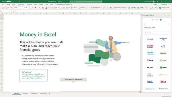 Microsoft & Plaid: Money in Excel - Excel uygulama dünyasında bir nevi 'bundling' platformu olabilir mi?