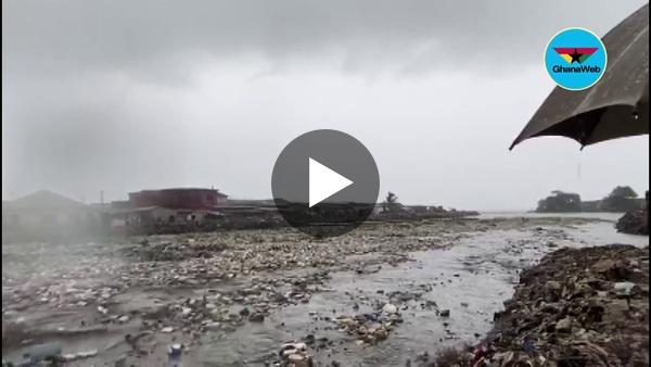Sunday rains wash away newly-constructed Chemuenaa-bridge amidst massive waste display
