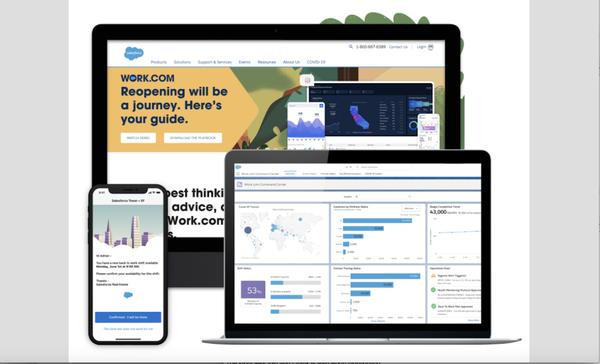 Salesforce debuts business software for the coronavirus era