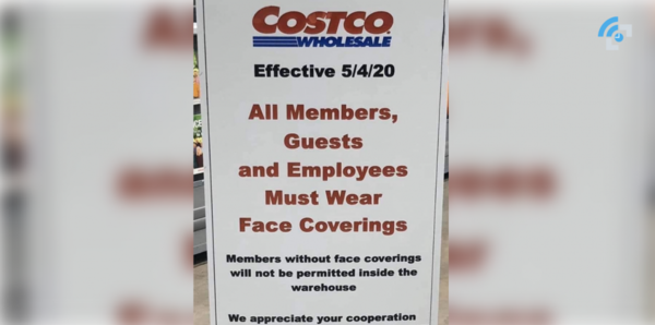 Face covering now required to shop at Costco and senior hour extended to 5 days a week