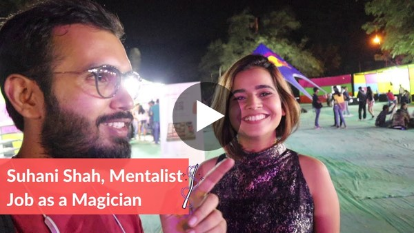 Suhani Shah is a mentalist and a well-renowned magician from India. I had the opportunity to watch her perform and speak to her at the Under 25 Summit in Bangalore. Here, Suhani shares insight into her journey starting out, and provides the secret to developing her expertise in magic