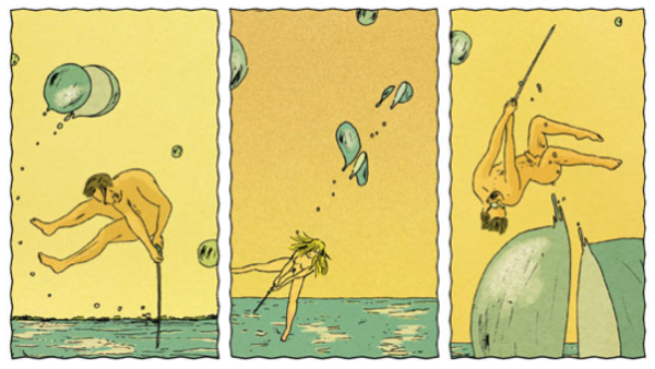 La Technique du périnée, de Florent Ruppert et Jérôme Mulot, couleurs Isabelle Merlet, Dupuis, Aire libre, 104 pages, 20,50 euros.