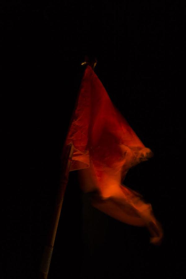 Le drapeau du pêcheur. 2019. Hélène David.
