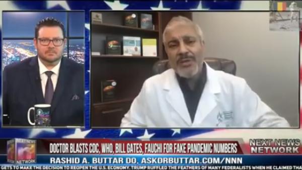 Osteopatul Rashid Buttar pentru postul conspiraționist Next News Network