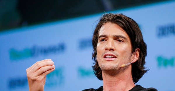 Adam Neumann, WeWork's Former Chief, Sues SoftBank