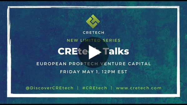 CREtech Talks: European Proptech Venture Capital