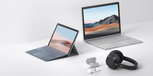 Microsoft's Surface Go 2, Surface Headphones 2, and Surface Earbuds ship on May 12