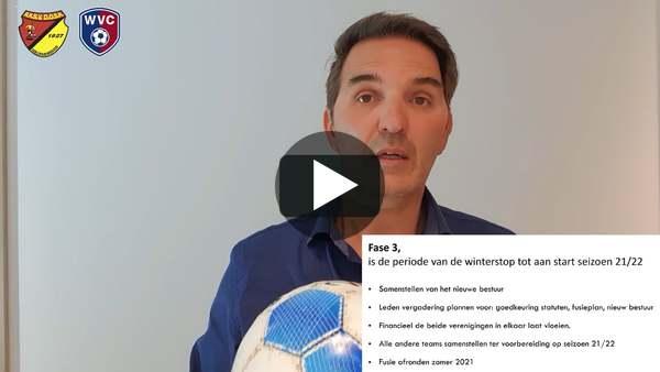 ROELOFARENDSVEEN - Werkgroepen vertellen over voortgang fusie WVC-DOSR (video)