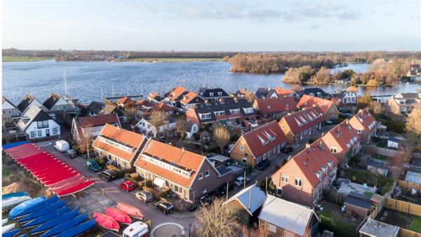 Woningen Kaageiland overgedragen aan nieuwe eigenaar