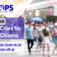Smart Cities for Smart Citizens