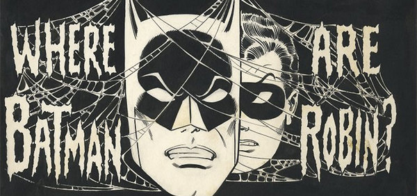 Carmine Infantino - Batman Original Cover Art