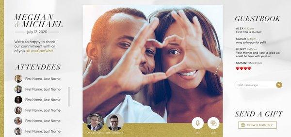 Jared unveils virtual wedding platform