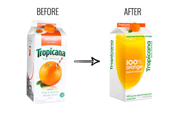 The Worst Rebrand in the History of Orange Juice - Better Marketing - Medium