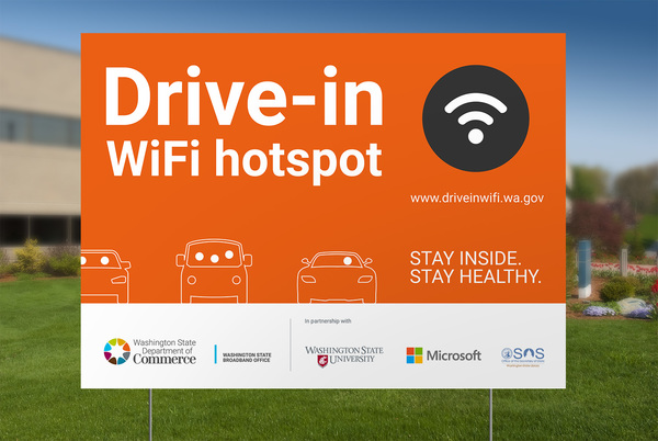 Washington state adds hundreds of WiFi hotspots with funding from Microsoft