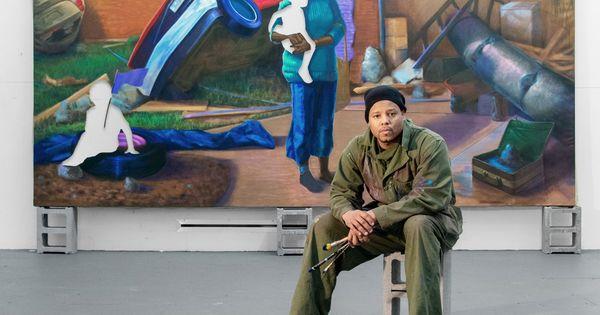 See Titus Kaphar's Paintings About Black Motherhood