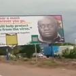 Coronavirus: Government rejects controversial Akufo-Addo billboard