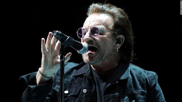 Bono celebrates 60th birthday by sharing a list of 60 songs that saved his life -