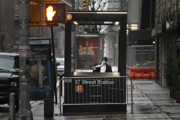 In New York's subway shutdown, an unthinkable departure