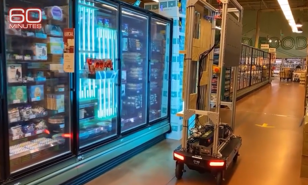 60 Minutes shows Amazon's virus-killing robot; says company uses AI to enforce social distancing -