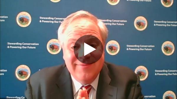 SCI Interviews David Bernhardt, Secretary of the Interior