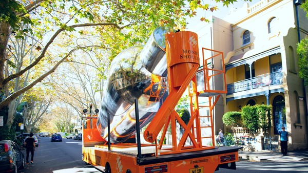 A huge cocktail-mixing truck is driving around Sydney and dropping off free drinks