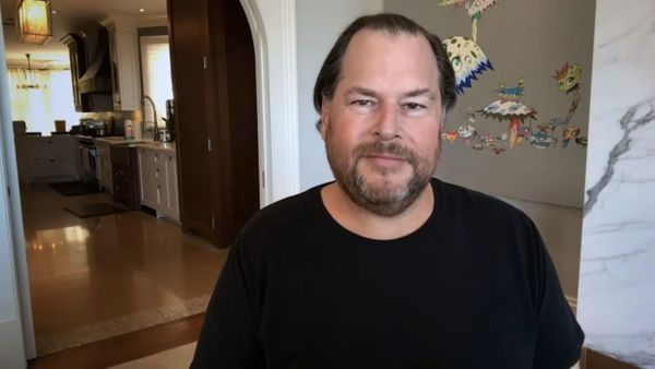 Salesforce CEO hopes America's return to offices is only weeks away