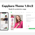 Capybara Theme 1.0rc2 is ready for production usage