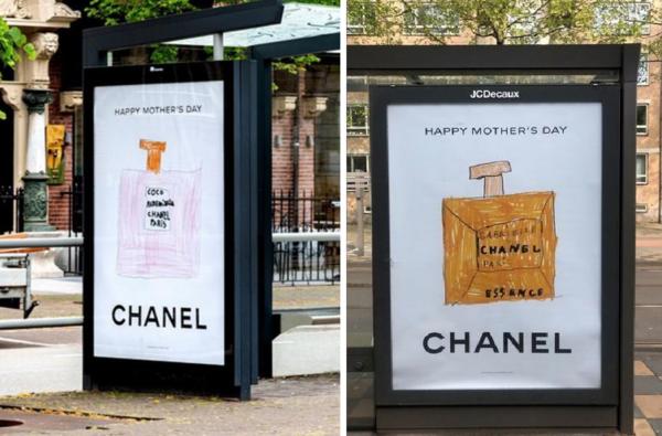 Go go Chanel: kindertekeningen schot in de roos
