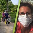 Fietsende Rijnsaterwoudenaren terug in Nederland: 'Die loempia moet dan maar even wachten'