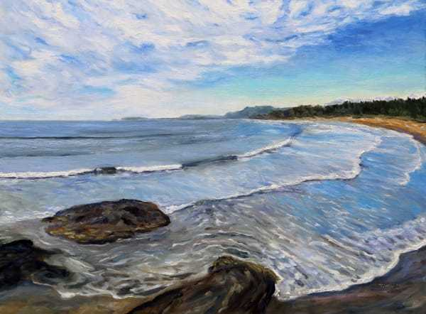 Wickininnish Beach in the Pacific Rim Park Reserve   Artwork Archive
