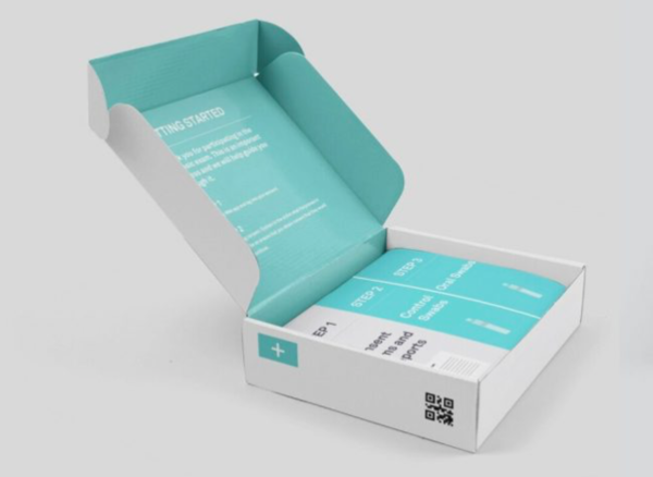 La scatola del kit