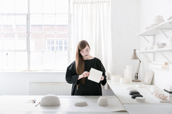 Designer Małgorzata Bany's creative live/work space in north London