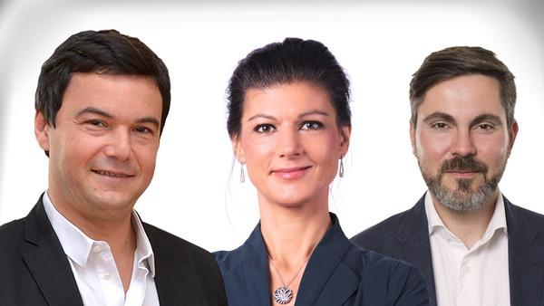 Piketty, Wagenknecht & De Masi: Milliardäre besteuern?