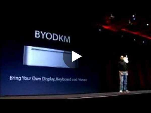 Macworld San Francisco 2005-The Mac mini Introduction