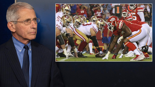 Football in the Fall? Dr. Fauci: 'The Virus Will Make Decision For Us'