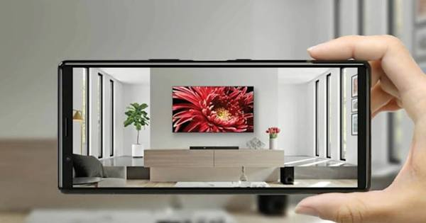 Sony's new AR TV app is a superfluous tape measure replacement