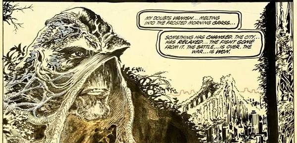 John Totleben - Swamp Thing Original Comic Art