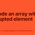 Decode An Array With A Corrupted Element