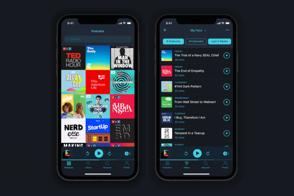 #1 Pocket Casts - The best all-round, all platform podcasting app: Free