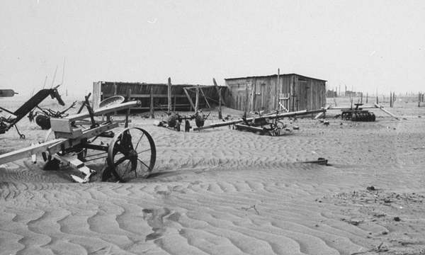 Dust Bowl conditions of 1930s now more than twice as likely to reoccur
