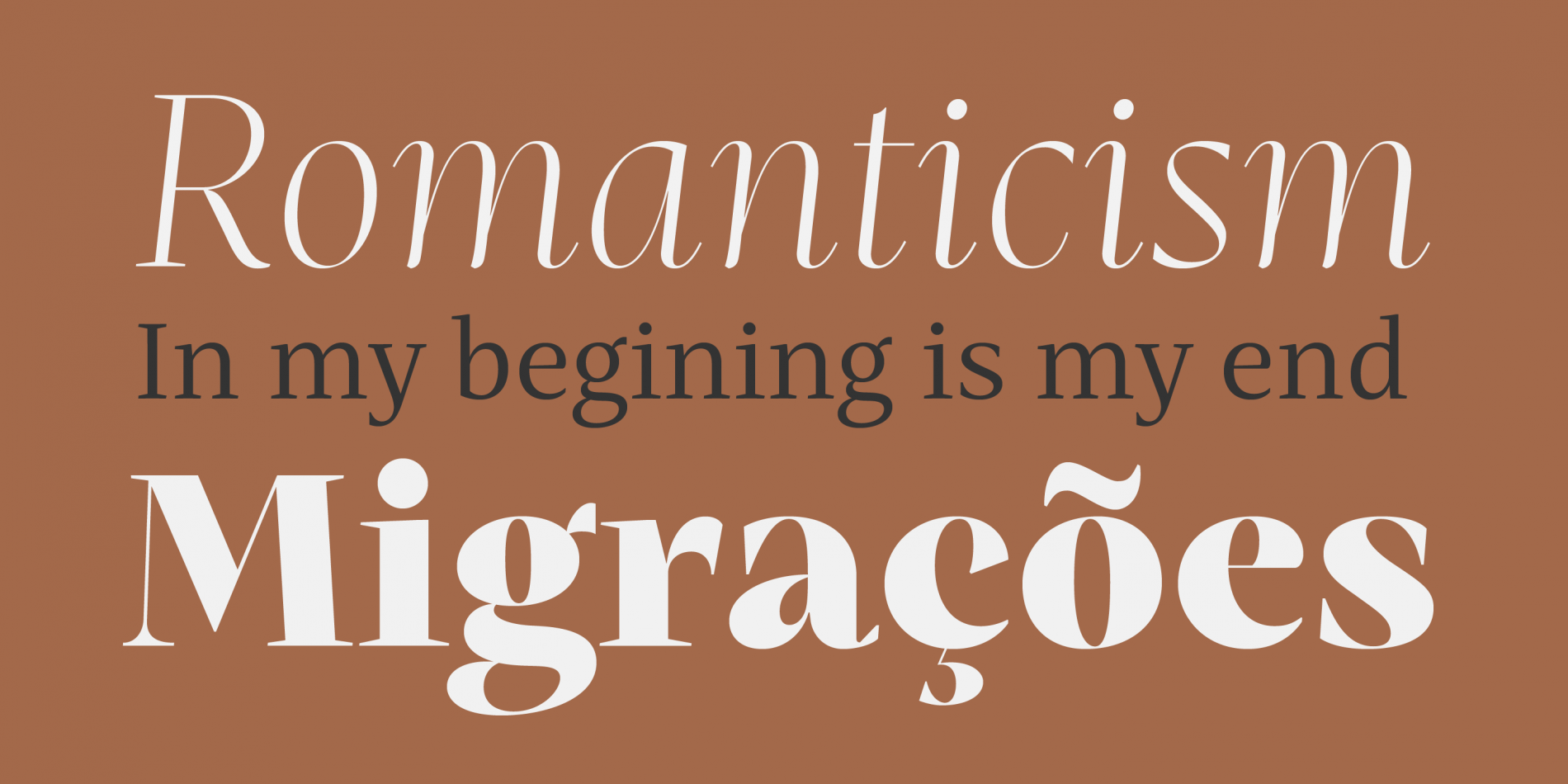 Mastro is a contemporary serif in 4 optical sizes: Display, Sub-head, Text and Caption. All styles are currently 75% off.